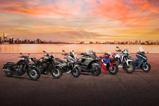 Toutes les nouveautés motos et scooters Honda 2021 !