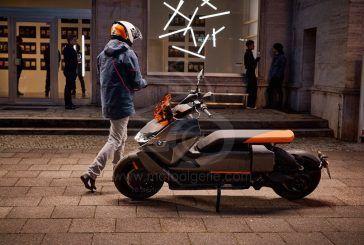 BMW Motorrad dévoile le nouveau scooter électrique :
