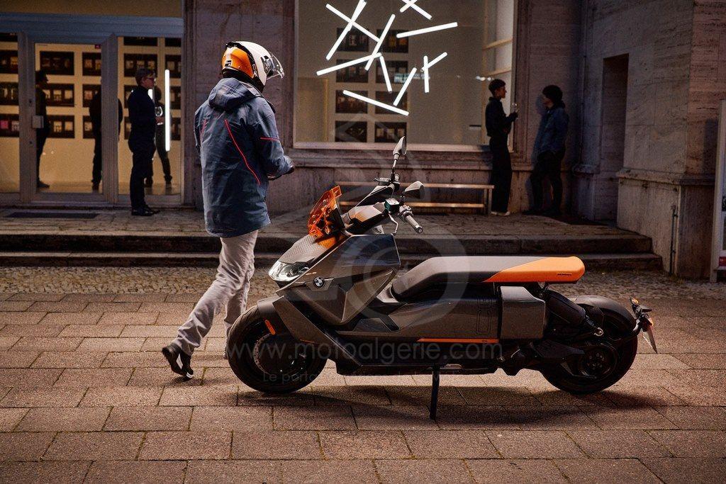 """BMW Motorrad dévoile le nouveau scooter électrique : """" CE 04 """""""