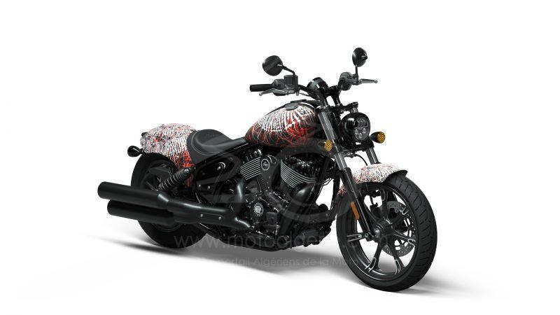 Test-Ride & Win : Indian Motorcycle dévoile le premier des trois designs de tatouages inspiré par l'Art-Bike Design
