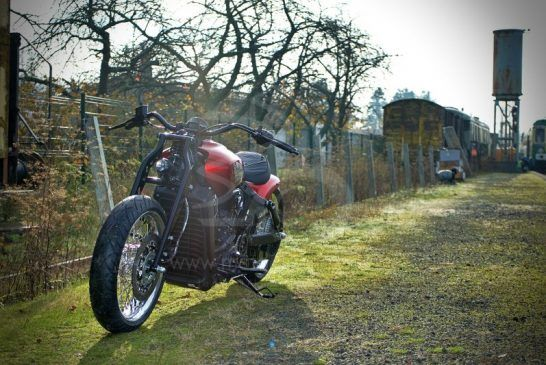 Indian Motorcycle Metz 'Red Wings' 1