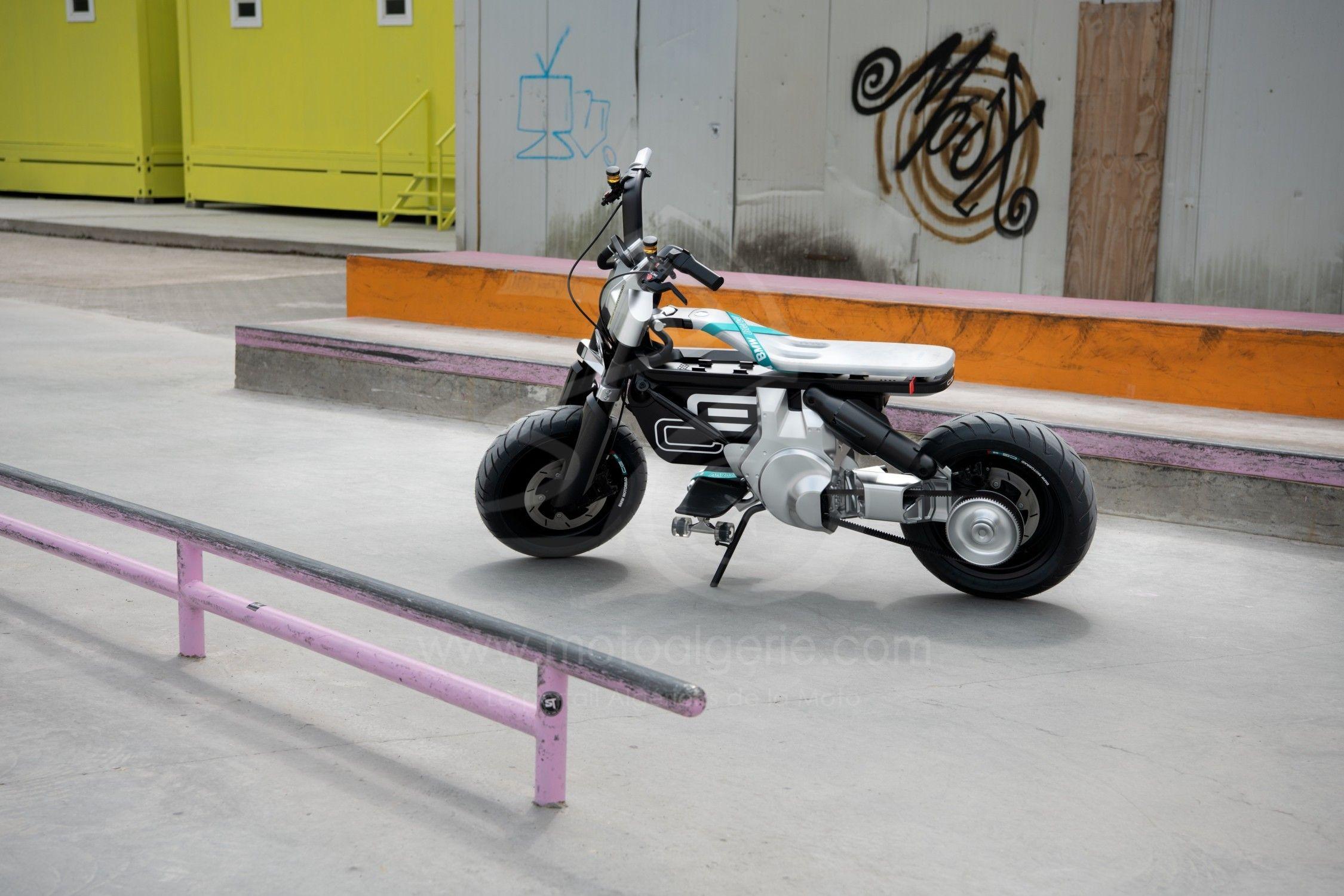 BMW Motorrad présente le Concept CE 02
