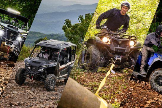 Yamaha Motor présente les gammes quad & SSV 2022