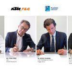 Accord entre Honda, KTM, Piaggio et Yamaha pour le développement de batteries réutilisables pour motos et véhicules électriques légers
